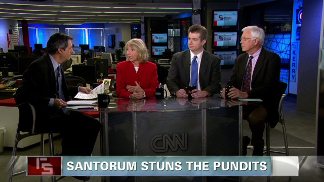 Santorum stuns the pundits
