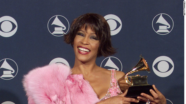 Whitney Houston at the 2000 Grammy Awards held in Los Angeles, CA on Febuary 23, 2000.