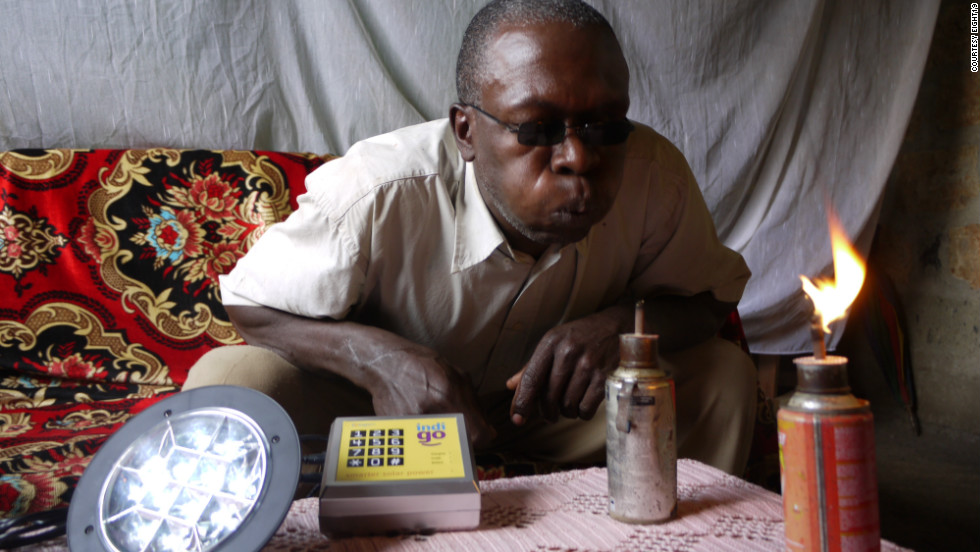 A renewable energy scheme by the British based company, Eight19, is enabling remote households in rural Africa to generate their own electricity using pay-as-you-go solar technology.