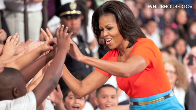 Mrs. Obama tells husband's fave snack
