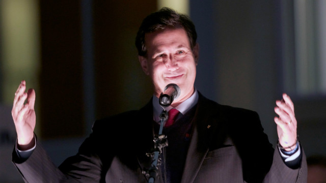 Santorum: Occupy movement intolerant