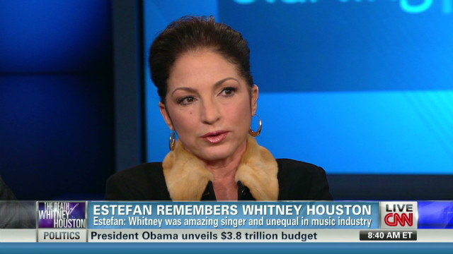 Gloria Estefan remembers Whitney Houston