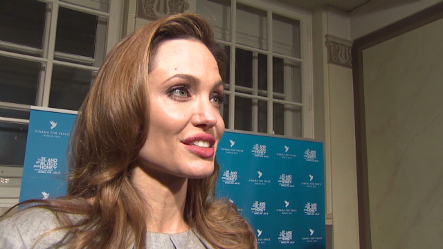 ctw pkg anderson angelina jolie new film in the land of blood and honey_00011302