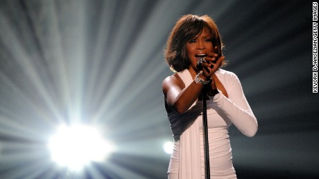 whitney houston 2009 american music awards