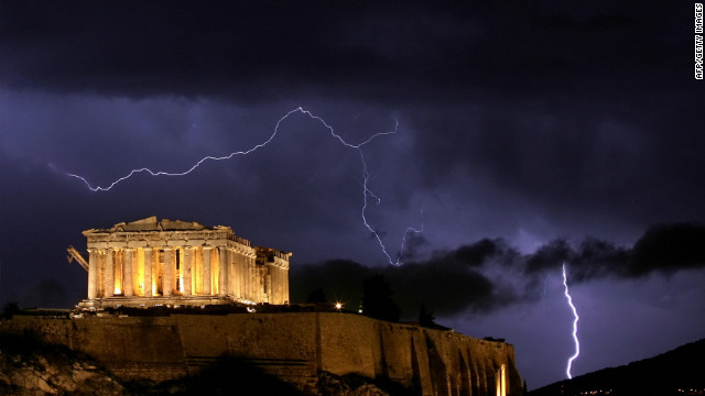 Surrender of Greek sovereignty?