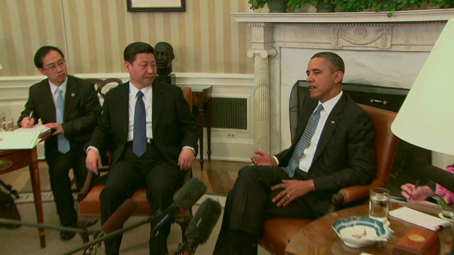 China-U.S relations take center stage