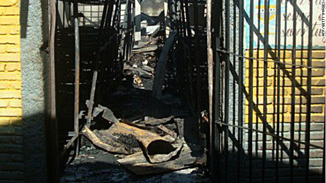Hundreds killed in Honduras prison fire