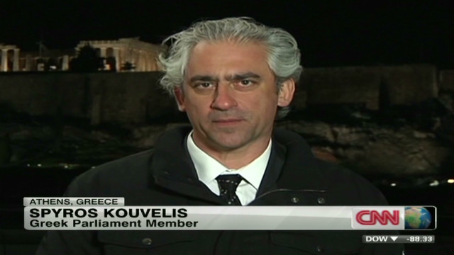 Greek MP: Eurozone exit not an option