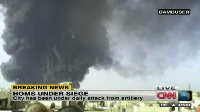 Syrian city again under siege