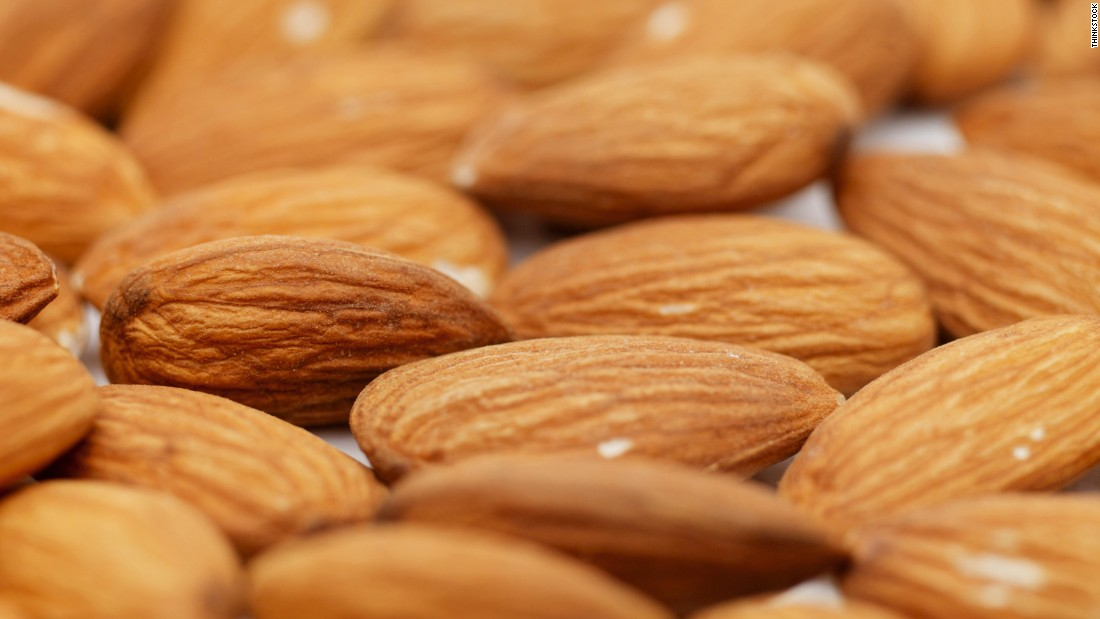 Nuts are thought to contain antioxidants, which reduce the effects of oxidative stress on the brain.