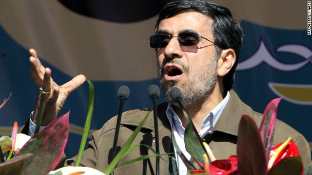 Iranian President Mahmoud Ahmadinejad has touted Tehran's determination for nuclear development.