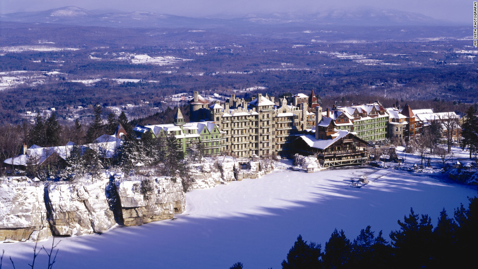 Mohonk Mountain House offers many outdoor winter sports.
