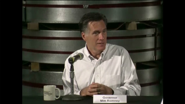 Romney: We're at a point of no return