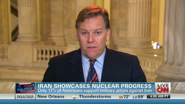 Rogers: Iran military option last choice