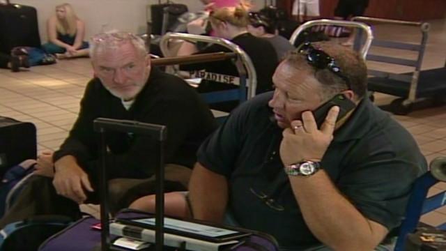 Aussie airline passenger: 'We are stuck'