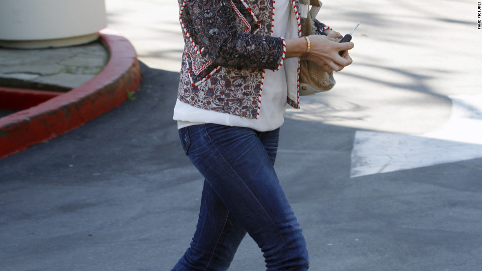 Julianne Hough dines in West Hollywood.
