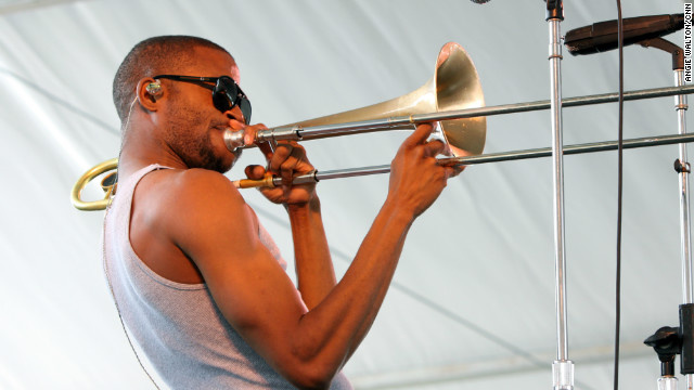 Talent will only take you so far, says Trombone Shorty, adding that it's the work ethic that really matters.