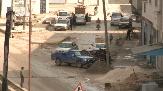 Syrian town held by opposition
