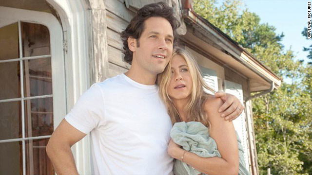 "Paul Rudd and Jennifer Aniston star in ""Wanderlust."""
