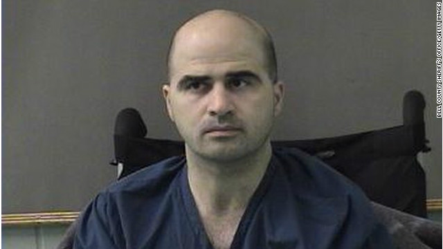 Army psychiatrist Maj. Nidal Hasan is charged with murder in connection with the Fort Hood shootings.