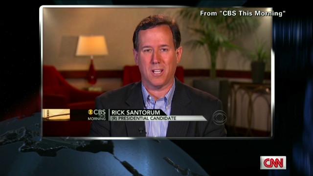 Santorum's 'Gotcha' complaints