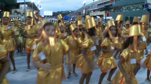 Carnival has started in Brazil