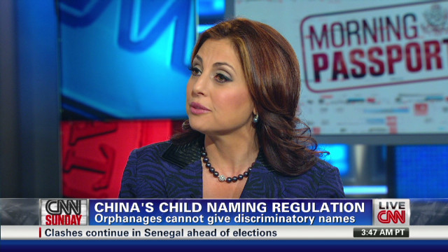 China's Child Naming Regulation