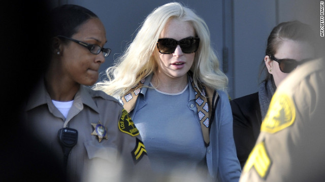 Actress Lindsay Lohan is nearing the end of her probation, and is due in court for a progress check Wednesday.
