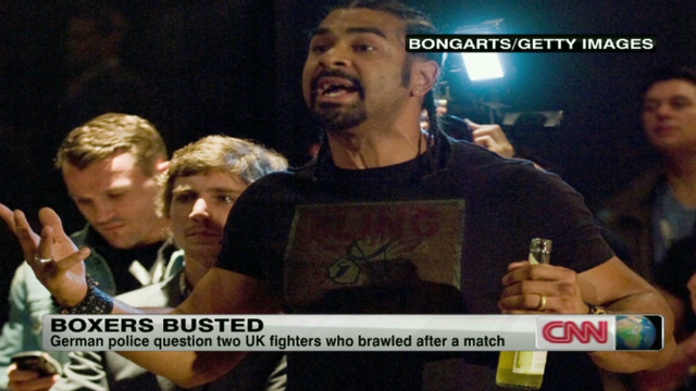 Boxers come to blows after fight