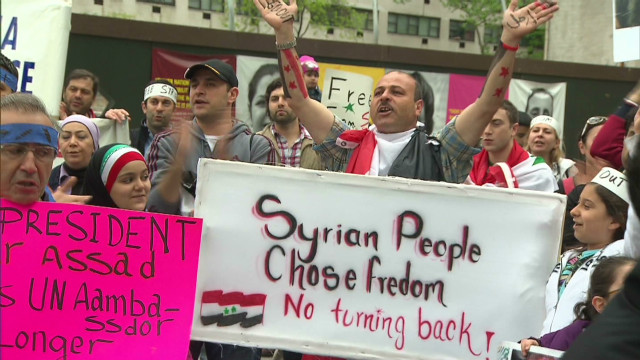 Syrian-Americans worry about homeland
