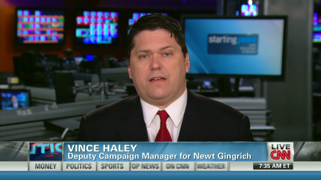 Gingrich rep: Voters don't want Romney