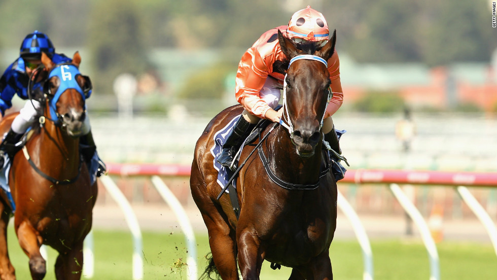 Five-year-old mare Black Caviar is now ranked as th second-best racehorse of all time after winning her 19th race in a row last weekend.
