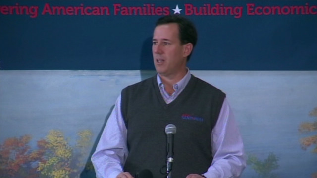 Santorum: Religious liberty is at stake