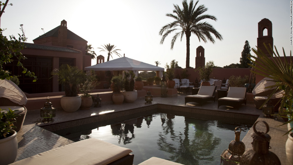 Royal Mansour Marrakech in Marrakech, Morocco.