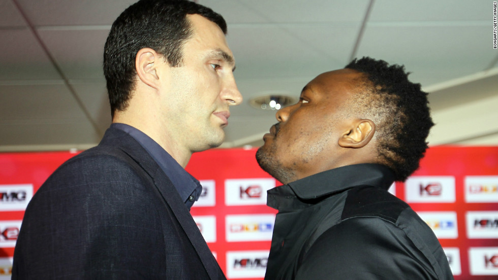Zimbabwe-born Chisora had signed on to fight Klitschko's younger brother Wladimir in December 2010, but the Ukrainian pulled out due to injury.
