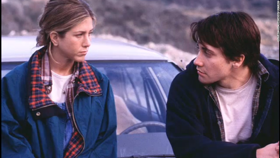 "In ""The Good Girl,"" Aniston played Justine Last, a  married store clerk who has an affair with a stock boy, played by Jake Gyllenhaal. She won a Teen Choice award for her performance in 2003."