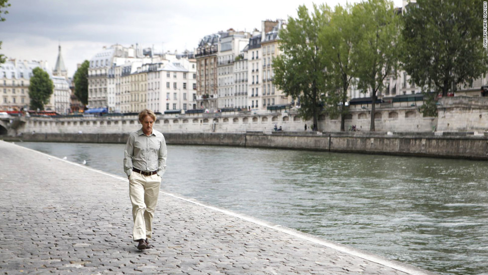 "Woody Allen's ""Midnight in Paris"" features Owen Wilson as a time traveler who rubs elbows with luminaries such as Ernest Hemingway, Pablo Picasso and Gertrude Stein in 1920s Paris."