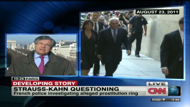 Prostitution ring case turns to DSK