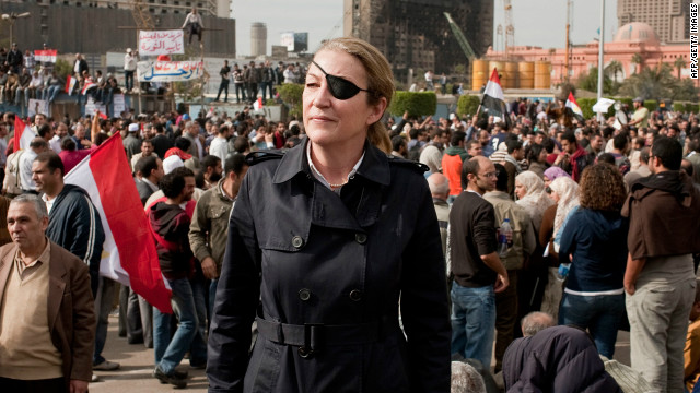 Sunday Times foreign correspondent Marie Colvin was killed in Homs, Syria, when a makeshift press center was hit by a shell.