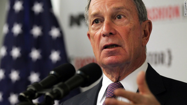 New York Mayor Michael Bloomberg defended on Thursday his police department's monitoring of Muslim student groups' websites.