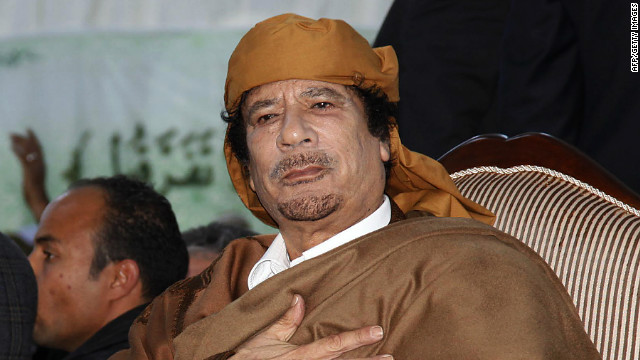 2011: Gadhafi: My people will die for me