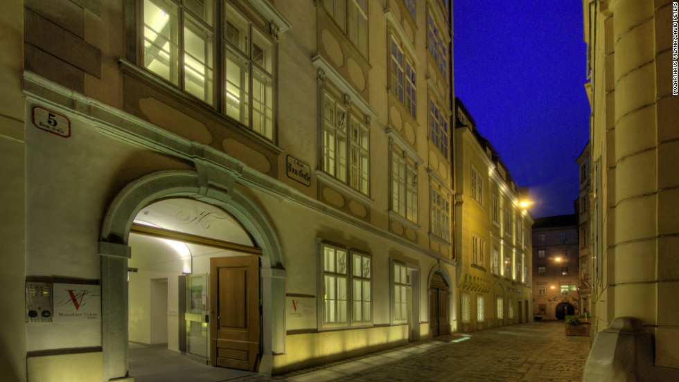 "The home where Mozart created ""The Marriage of Figaro"" is also a museum. Visitors can view objects from the composer's life, while listening to his music wafting on the air."