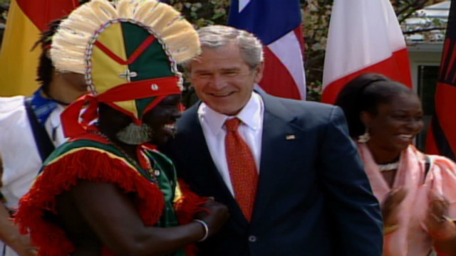 vo president bush dancing_00003509