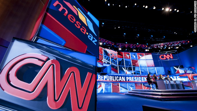 CNN readies for Arizona GOP debate