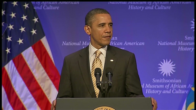 Obama: Museum a 'monument for all time'