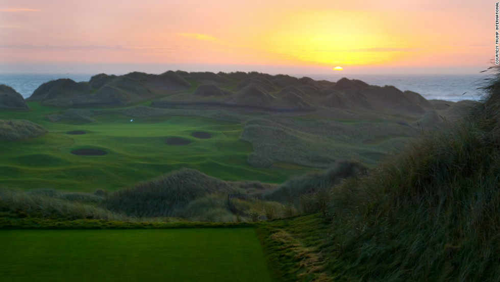 Is the sun about to set on Donald Trump's plans for a golf complex capable of hosting Ryder Cups and the British Open?