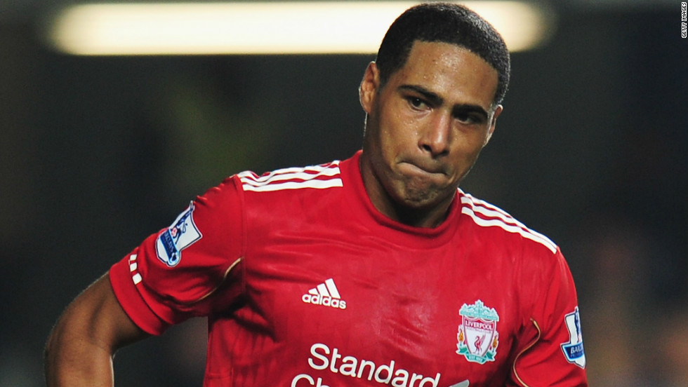 A fan was banned from attending all football matches for three years after directing racist abuse at Liverpool defender Glen Johnson during a match on January 3. Andrew Dale, 36, was also fined £400 ($628).