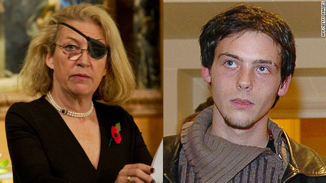 Journalists Marie Colvin and Remi Ochlik, who were reportedly killed while working in the Syrian city of Homs on February 22, 2012.