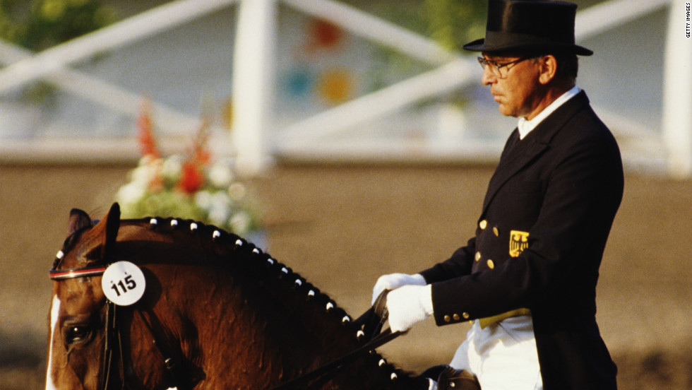 Klimke has followed in the footsteps of her father Reiner, who won an incredible six gold medals for dressage at Olympic Games from 1964 to 1988.