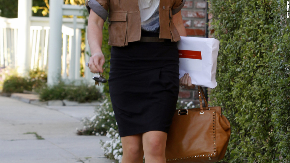 Katherine Heigl attends a meeting in Los Angeles.